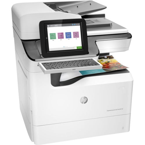 HP PageWide Enterprise 785f Page Wide Array Multifunction-Color Printer - 75 ppm Mono/75 ppm Color Print - Automatic Duplex Print