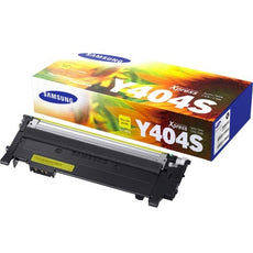 Samsung CLT-Y404S, SU448A OEM Laser Toner Cartridge - Yellow - 1000 Pages