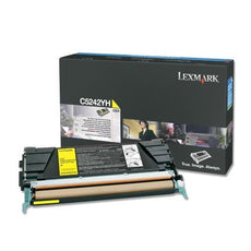 OEM Lexmark C5242YH Toner Cartridge Yellow - High Yield (5,000 Yield)