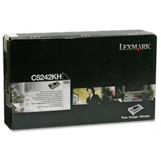 Lexmark C5242KH Toner Cartridge Black - High Yield (8,000 Yield)