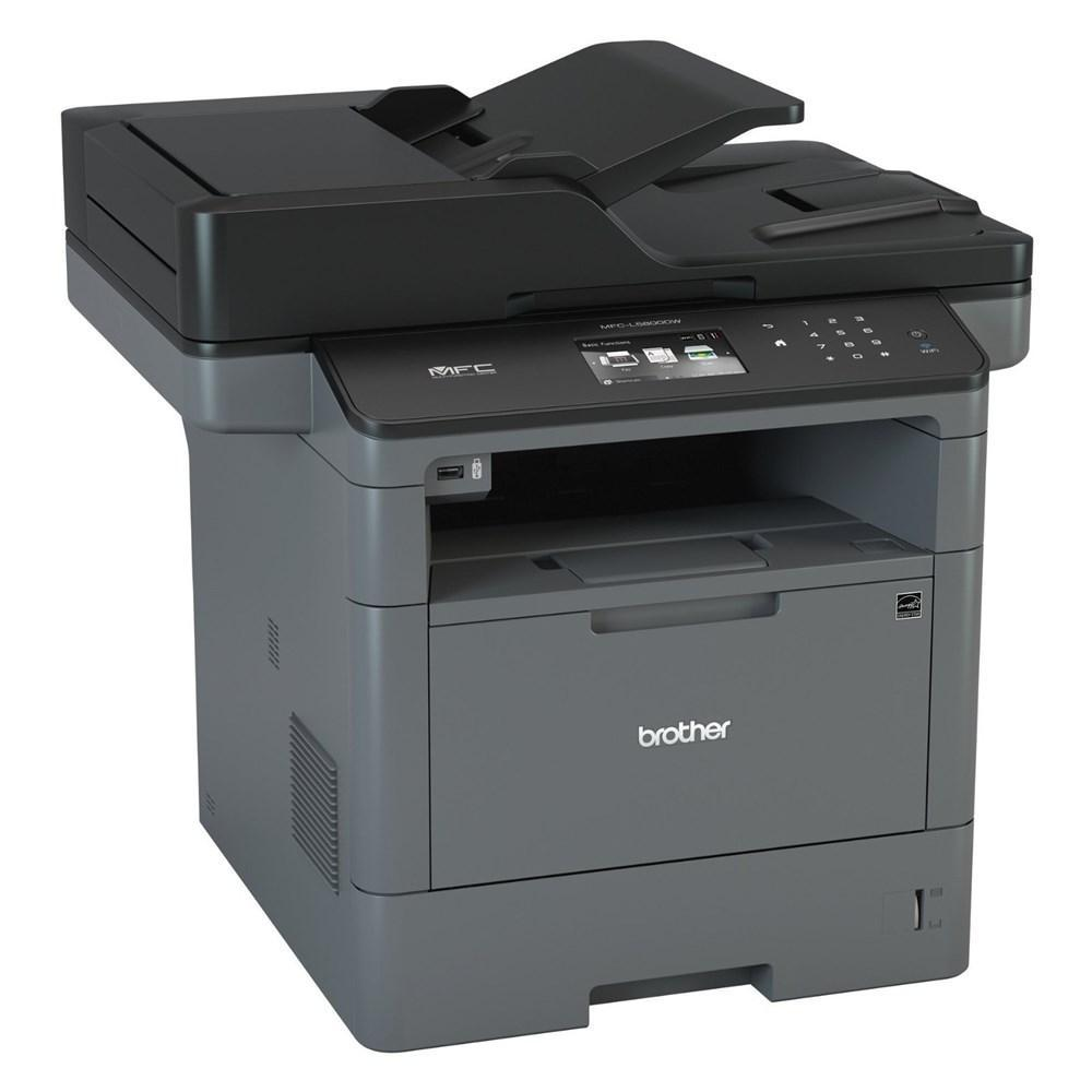 Brother MFC-L5800DW Laser Multifunction Printer - Monochrome - Copier/Fax/Printer/Scanner