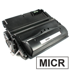 Compatible HP Q5942A, 42A MICR Toner Cartridge For LaserJet 4250, 4350 Black - 10K