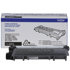 OEM Brother TN-660 Toner Cartridge For HL-L2300D Black - 2.6K