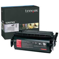 OEM Lexmark 12A5745 Toner Cartridge (25,000 Yield)