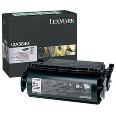OEM Lexmark 12A5840 Toner Cartridge (10,000 Yield)