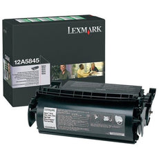 OEM Lexmark 12A5845 Toner Cartridge High Yield - (25,000 Yield)
