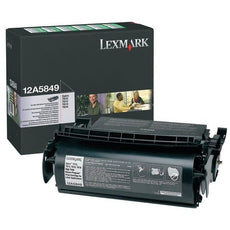 OEM Lexmark 12A5849 Toner Cartridge For Label Applications (25,000 Yield)