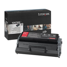 Original Lexmark 12A7305 Toner Cartridge - Black - 6,000 Yield(High Yield) - Design For The Environment (dfe) Compliance