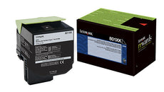 OEM Lexmark 80C1XK0, 801XK Toner Cartridge For CX510 Black - 8K
