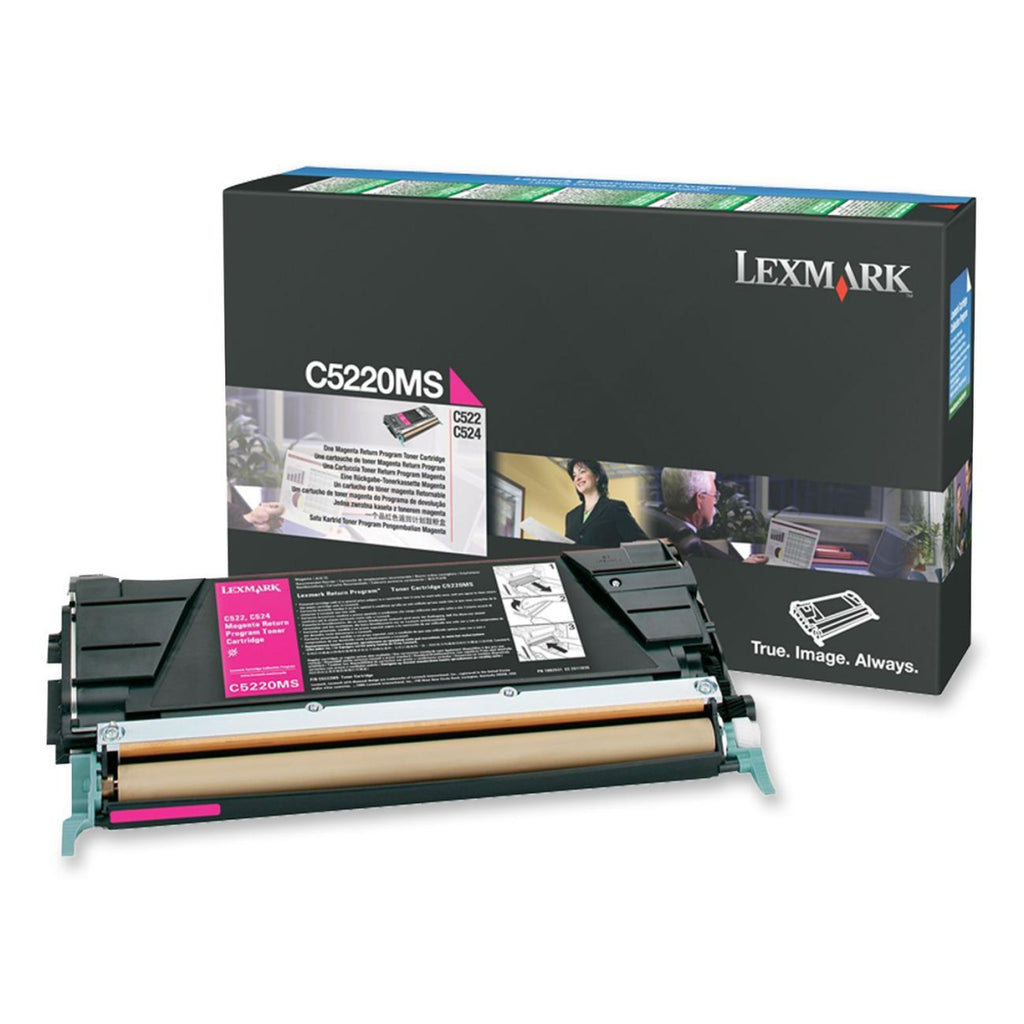 Lexmark C5220MS OEM Toner Cartridge For C522, C534 Magenta - 3K