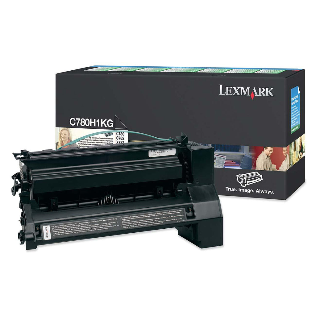 Lexmark C780H1KG OEM Toner Cartridge For C780, X782 Black - 10K