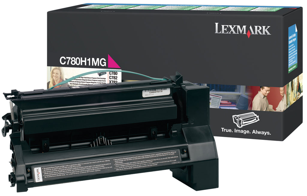 Lexmark C780H1MG OEM Toner Cartridge For C780, X782 Magenta - 10K
