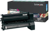 OEM Lexmark C780H1MG Toner Cartridge For C780, X782 Magenta - 10K