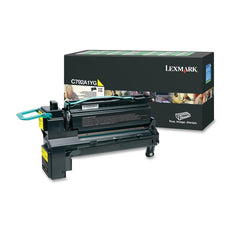 OEM Lexmark C792A1YG Toner Cartridge For C792 Yellow - 6K