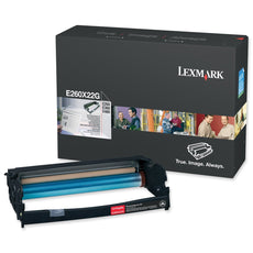 OEM Lexmark E260X22G Photoconductor Kit - Black - 30K