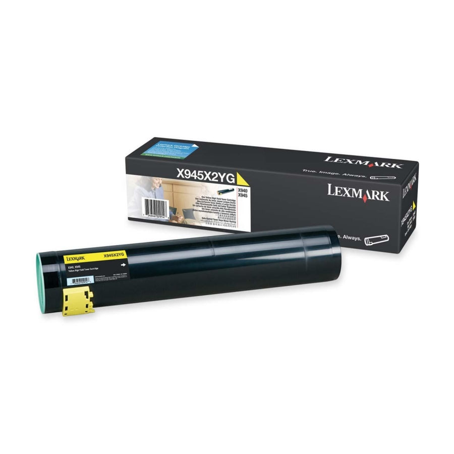Lexmark X945X2YG OEM Toner Cartridge For X940 Yellow - 22K