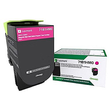 Lexmark 71B1HM0 OEM Toner Cartridge - Magenta - High Yield - 3.5K