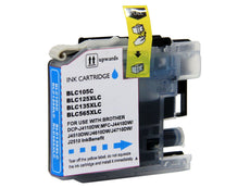 Compatible Brother LC105C, LC-105C Ink Cartridge For MFC-J4310DW Cyan - 1.2K