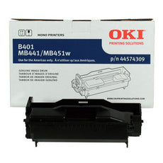 OkiData 44574309 OEM Imaging Drum (No Toner) Black High Yield - 25K