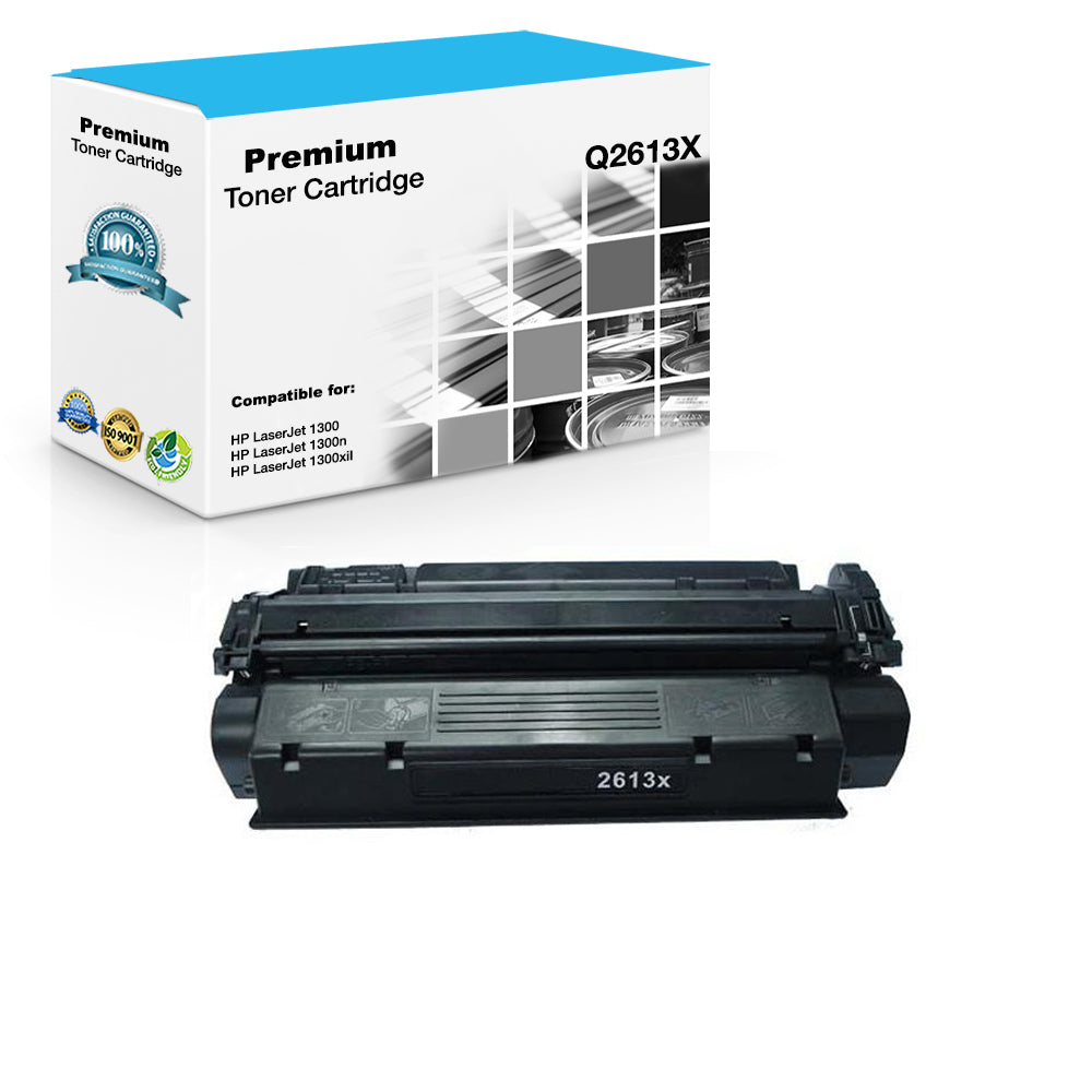 Compatible HP Q2613X, 13X Toner Cartridge For LaserJet 1300 Black - 4K