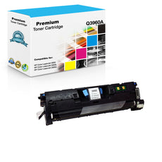 Compatible HP Q3960A, 122A Toner Cartridge For Color LaserJet 2550, 2840 Black - 4K