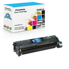 Compatible HP Q3961A, 122A Toner Cartridge For Color LaserJet 2550, 2840 Cyan - 4K