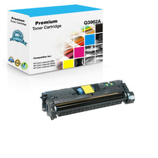Compatible HP Q3962A, 122A Toner Cartridge For Color LaserJet 2550, 2840 Yellow - 4K