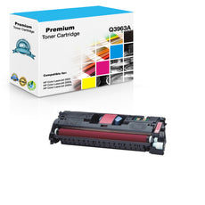 Compatible HP Q3963A, 122A Toner Cartridge For Color LaserJet 2550, 2840 Magenta - 4K
