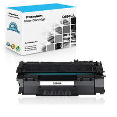 Compatible HP Q5949A, 49A Toner Cartridge - Black - 2.5K