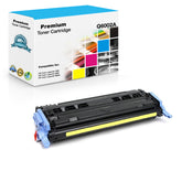 Compatible HP Q6002A, 124A Toner Cartridge For Color LaserJet 2600, CM1015 Yellow - 2.5K