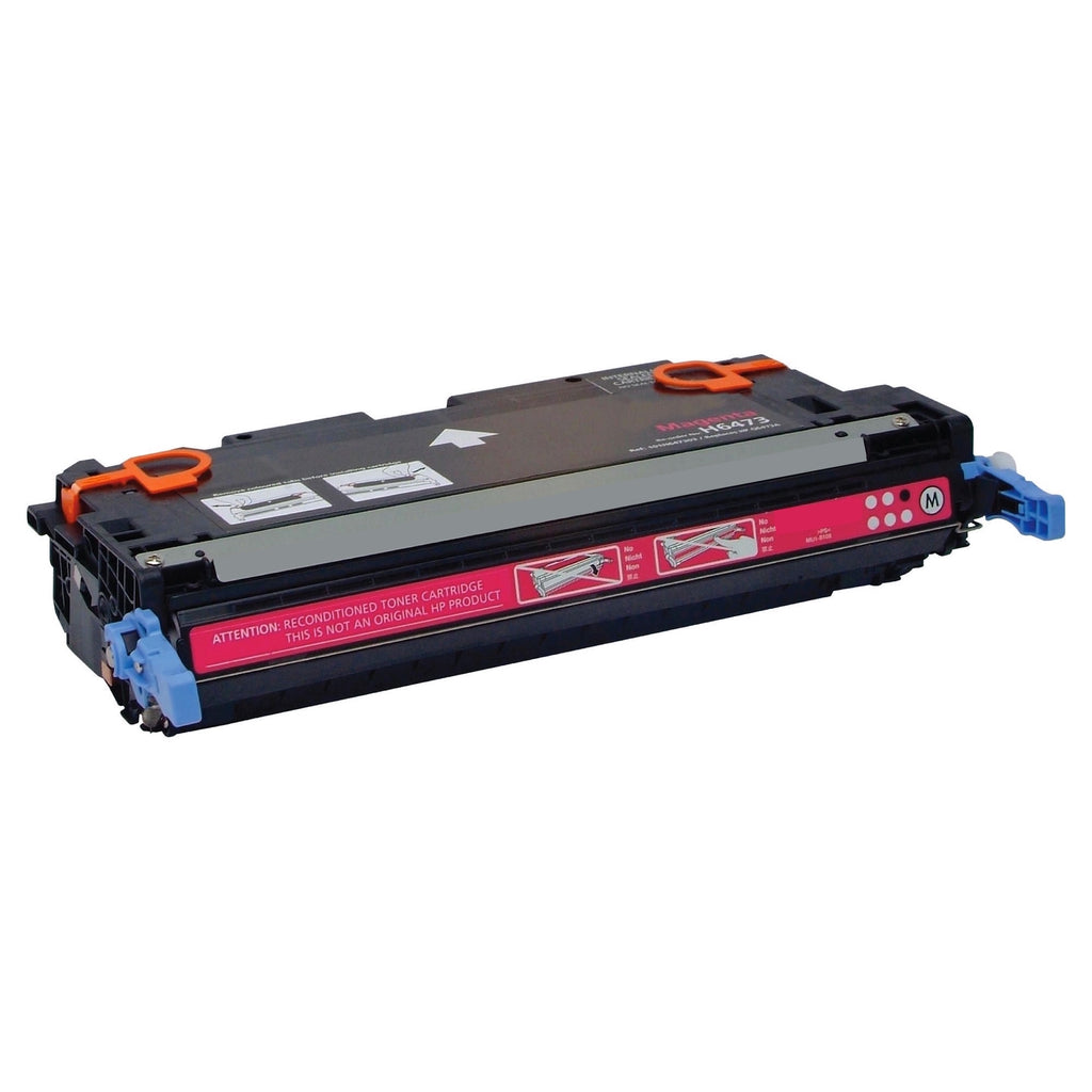 Compatible HP Q6473A, 502A Toner Cartridge For Color LaserJet 3600 Magenta - 4K