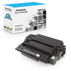 Compatible HP Q6511X, 11X Toner Cartridge For LaserJet 2420, 2430 Black - 12K