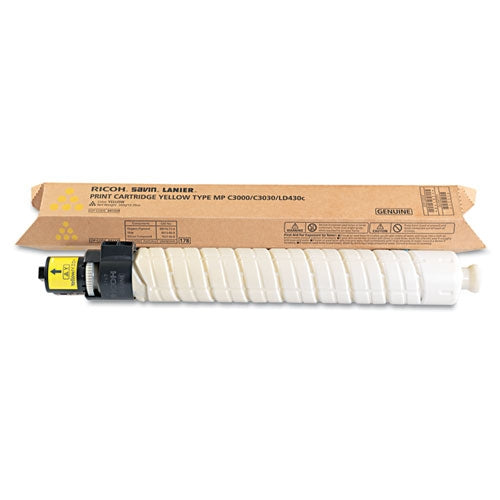 Ricoh 884963 OEM Toner Cartridge For Aficio MP C3000 Yellow - 15K