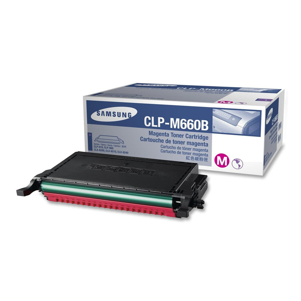 Samsung CLP-M660B OEM Toner Cartridge For CLP-610N Magenta - 5K