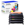 Compatible Samsung CLT-407 Toner Cartridges for Black, Cyan, yellow, Magenta - Value Pack