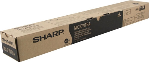 Sharp MX-27NTBA OEM Toner Cartridge For MX-2300N, MX-2700N Black - 18K