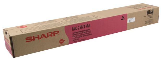 Sharp MX-27NTMA OEM Toner Cartridge For MX-2300N, MX-4501N Magenta - 15K