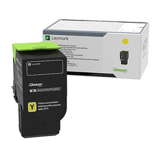 Lexmark 78C0U40 OEM Toner Cartridge Yellow Ultra High Yield 7000 Pages