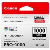 OEM Canon 0545C002, LUCIA PRO PFI-1000MBK Ink Cartridge - Matte Black - 5490 Photo