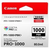 OEM Canon 0546C002, PFI-1000 Ink Cartridge - Photo Black - 2205 Photo