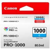 OEM Canon 0547C002, LUCIA PRO PFI-1000 Ink Cartridge - Cyan - 5025 Photo