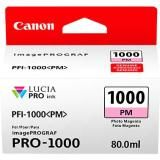 OEM Canon 0551C002, LUCIA PRO PFI-1000 Ink Cartridge - Photo Magenta - 3755 Photo