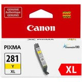 Canon CLI-281 XL Original Ink Cartridge - Yellow - Inkjet - TAA Compliance