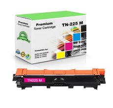 Compatible Brother TN225M, TN-225M Toner Cartridge - Magenta - 2.2K