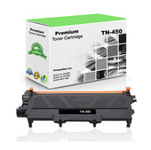 Compatible Brother TN450 Toner Cartridge - Black - 2.6K