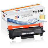 Starink® Premium Compatible Brother TN760, TN-760 Toner Cartridge, Black 3K (With Chip)