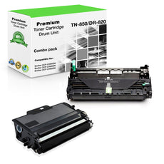 Compatible Brother TN850 X 1 Toner Plus DR820 X 1 Drum - Value Pack