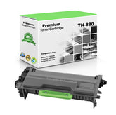 Compatible Brother TN880, TN-880 Toner Cartridge Extra High Yield, 12K