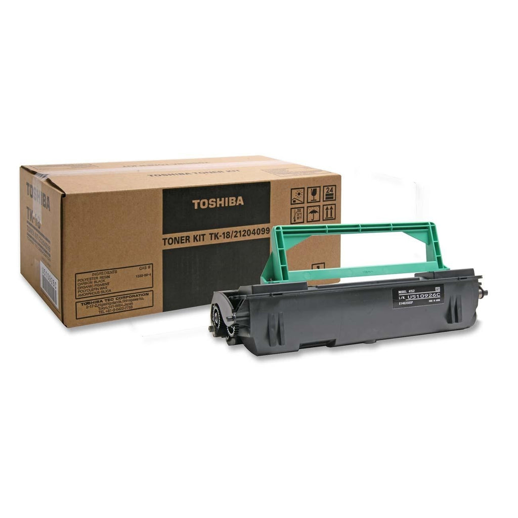 Toshiba TK18 OEM Toner Cartridge For DP80F Black - 6K