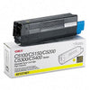 Okidata 42127401 OEM Toner Cartridge For C5100 Yellow - 5K
